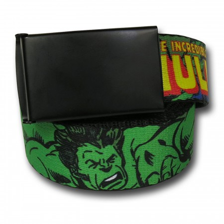 Hulk Raging Adult Web Belt