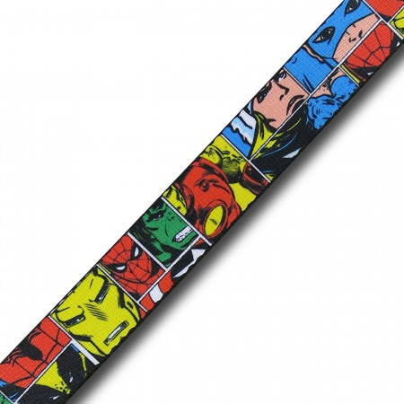 Marvel Comics Hero Blocks Web Belt