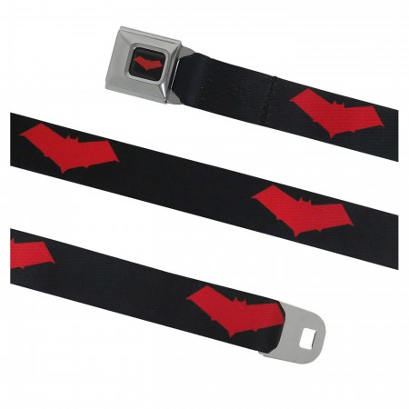 Red Hood Symbol Seatbelt Belt