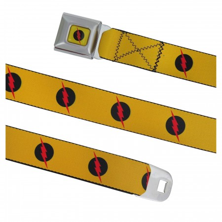 Reverse Flash Symbol Seatbelt Belt