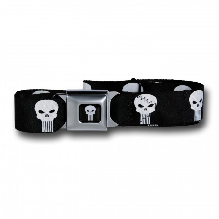 Punisher Symbols Seatbelt Belt
