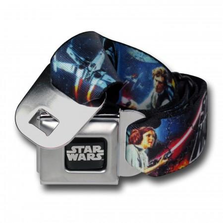 Star Wars New Hope Poster Seatbelt Belt