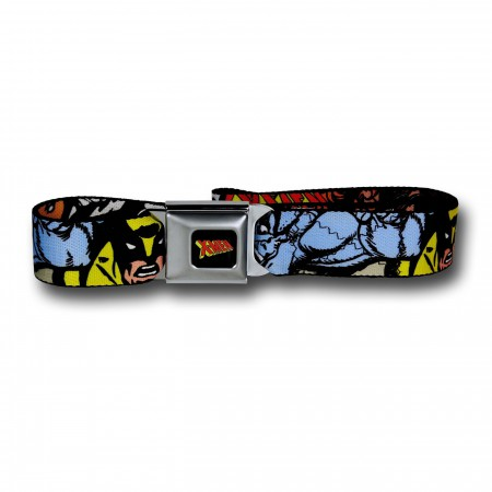 X-Men Faces Seatbelt Belt