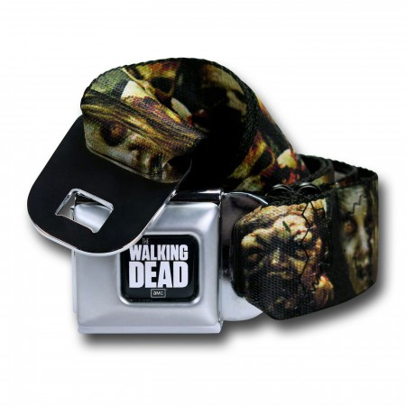 Walking Dead All-Over Zombie Seatbelt Belt