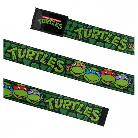 TMNT Heroes in a Half Shell Web Belt