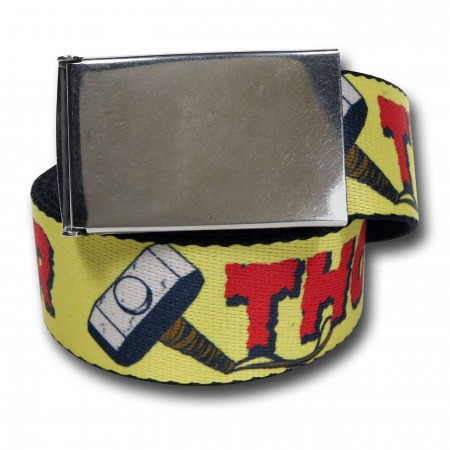 Thor Retro Mjolnir Web Belt