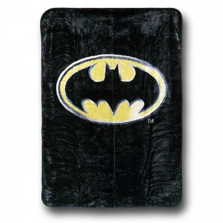 Batman Symbol Queen Blanket