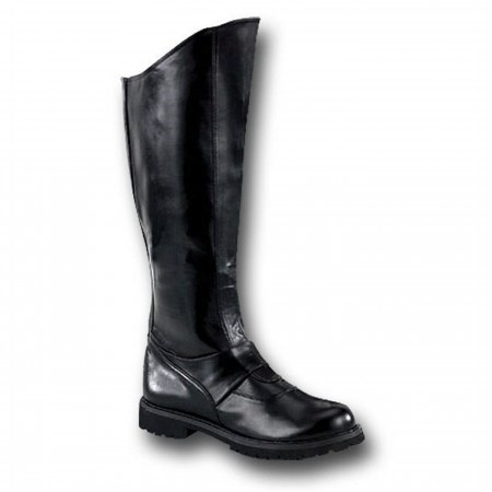 Black Boots Gotham Style For Men