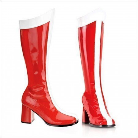 Wonder Go Go Woman Boots 3 Inch Heel