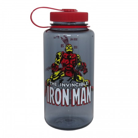 Iron Man Nalgene Tritan 32oz Water Bottle