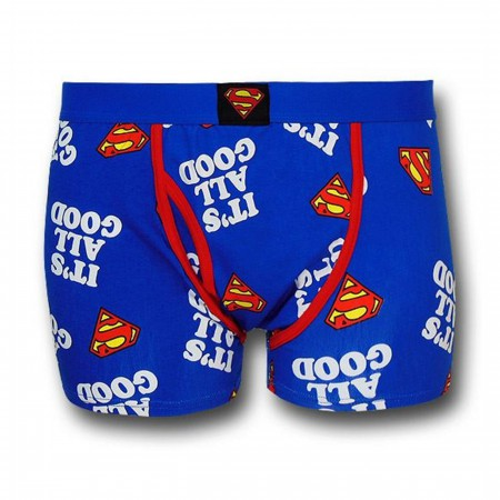 Superman It's All Good Boxer Briefs