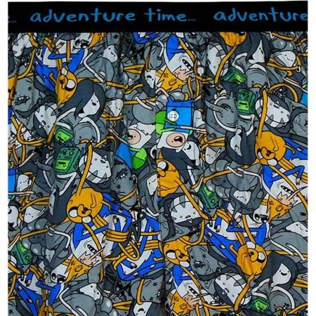Adventure Time Jake & Finn Print Boxers