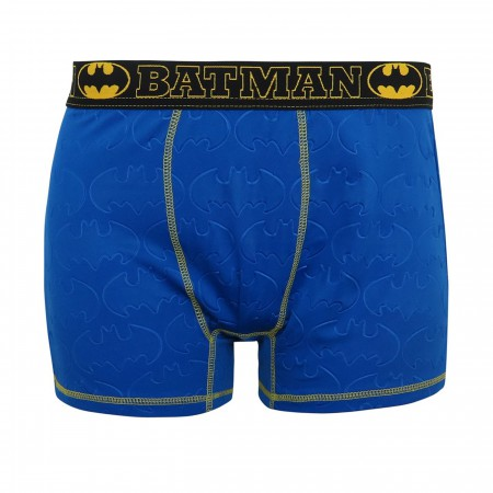 Batman 3D Embossed Symbols Men's Boxer Briefs