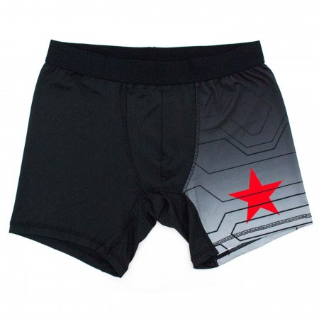 Winter Soldier Armor Men's Underwear Boxer Briefs