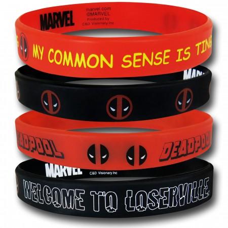 Deadpool Wristband Set