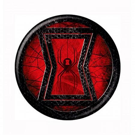 Black Widow Icon Symbol Button