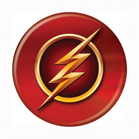 Flash TV Series Symbol Button