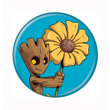 Guardian of the Galaxy Groot with Daisy Button