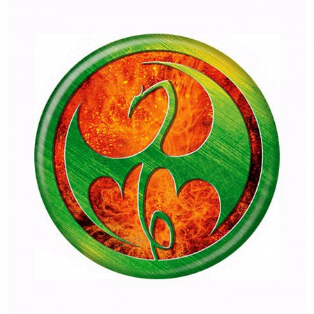 Iron Fist TV Series Icon Symbol Button