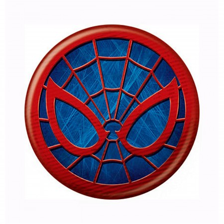 Spider-Man Icon Symbol Button