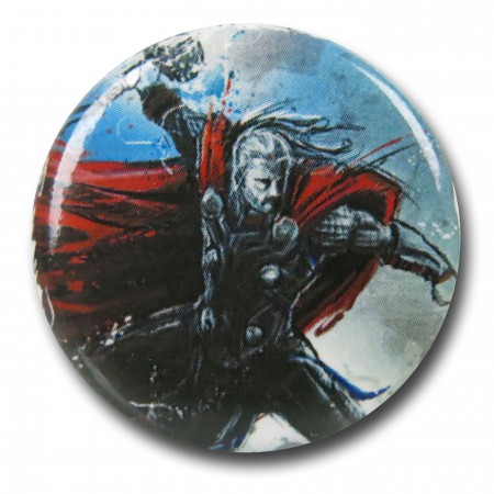Thor Age of Ultron Distressed Button