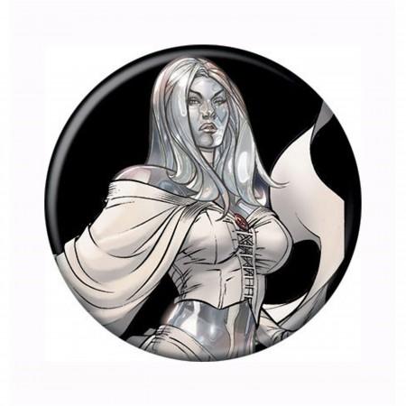 X-Men Emma Frost Button