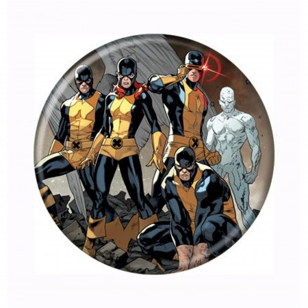 X-Men First Class Team Button