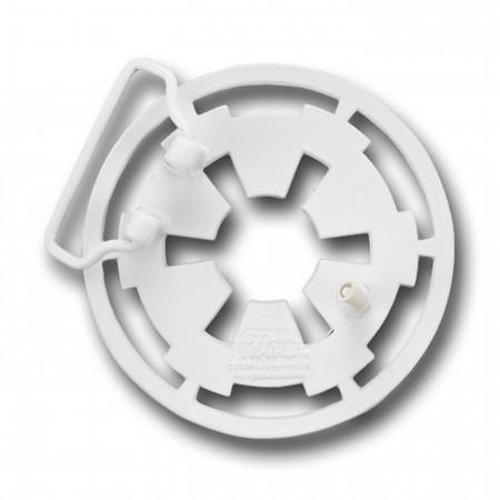 Star Wars White Imperial Symbol Belt Buckle