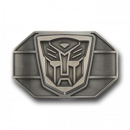 Transformers Metal Spin Symbol Belt Buckle