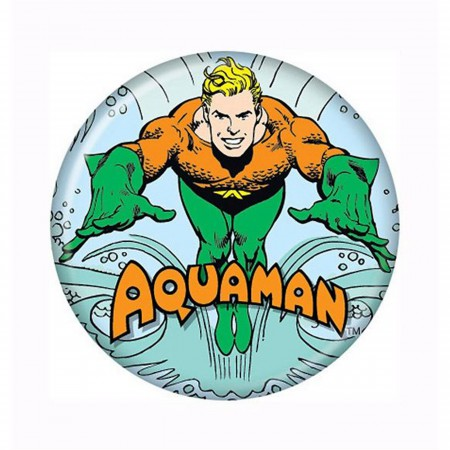 Aquaman Swimming Button