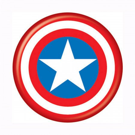 Captain America Shield Button