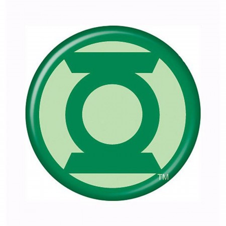 Green Lantern Modern Symbol Button