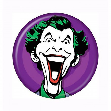 Joker Psycho Face Button