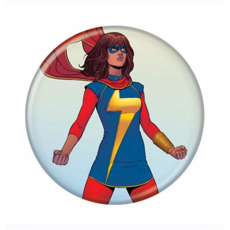 Ms. Marvel Stance Button