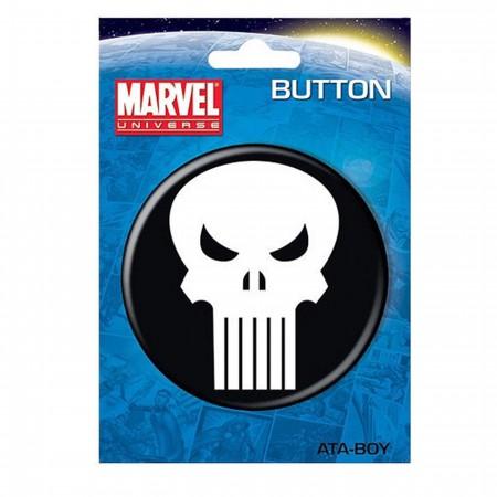 "Punisher Skull 3"" Button"