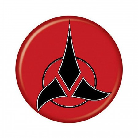 Star Trek Klingon Insignia Button