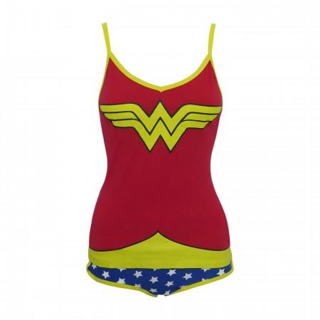 Wonder Woman Cami & Panty Lingerie Set