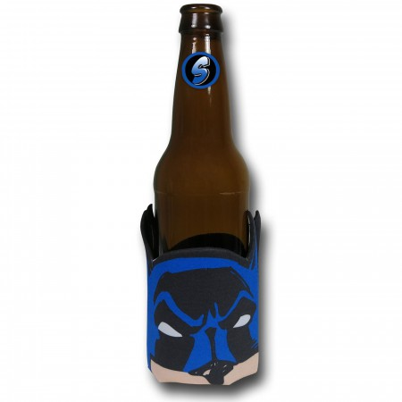 Batman Face Can and Bottle Cooler