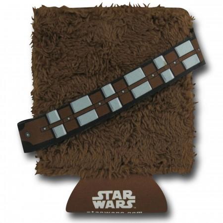 Star Wars Chewbacca Furry Can and Bottle Cooler