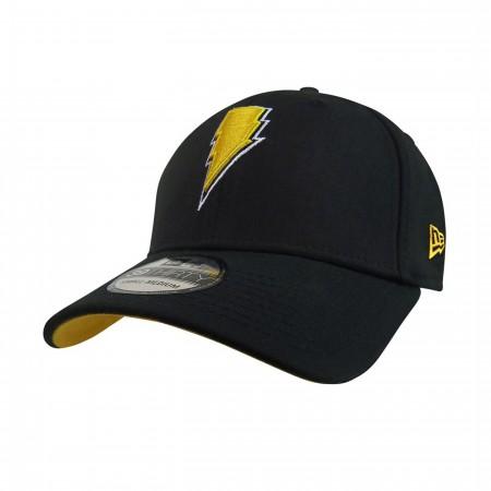 Black Adam Lightning 39Thirty Fitted Hat