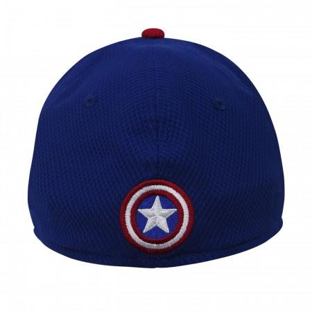 Captain America Shield Blue 59Fifty Cap