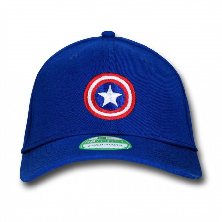 Captain America Shield Symbol Kids 39Thirty Cap