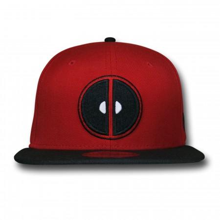 Deadpool Symbol Red & Black 59Fifty Cap