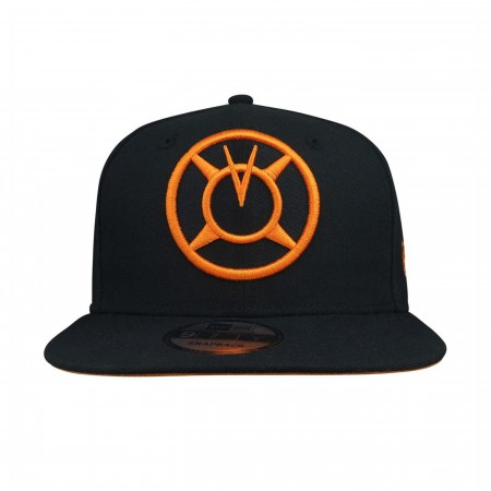 Green Lantern Orange Lantern 9Fifty Adjustable Hat