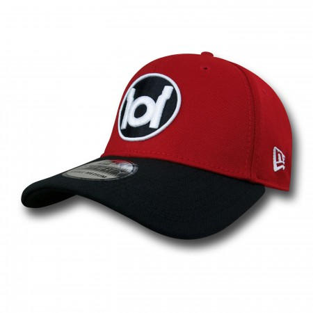 Red Lantern Symbol Red & Black 39Thirty Cap