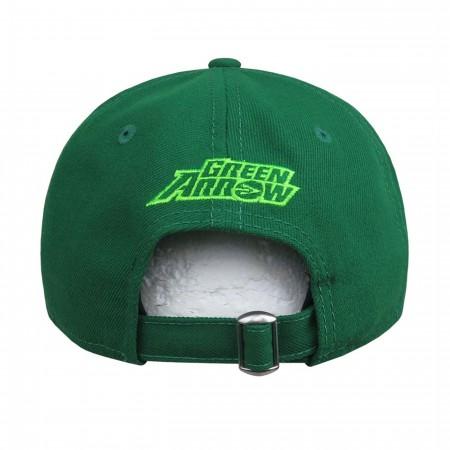 Green Arrow Symbol 9Twenty Adjustable Hat