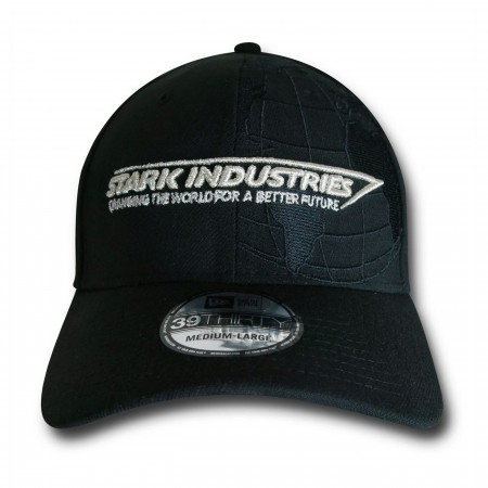 Iron Man Stark Industries New Era 3930 Fitted Hat