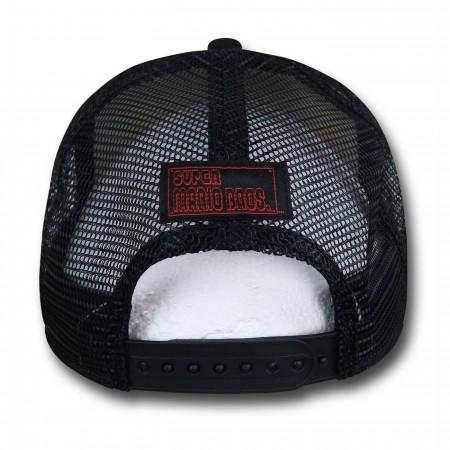 Mario Vs Bowser Trucker Hat