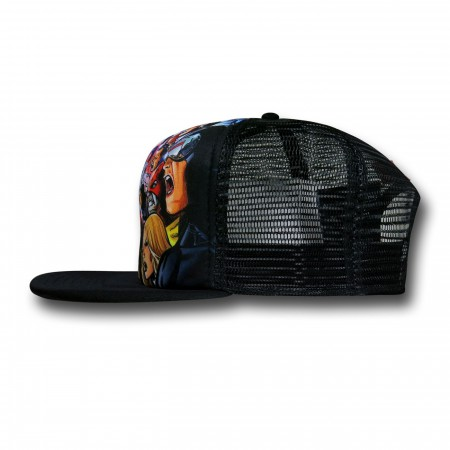 Marvel Avengers Versus X-Men Trucker Hat