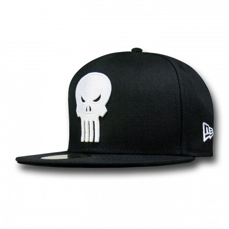 Punisher Symbol Black 59Fifty Cap